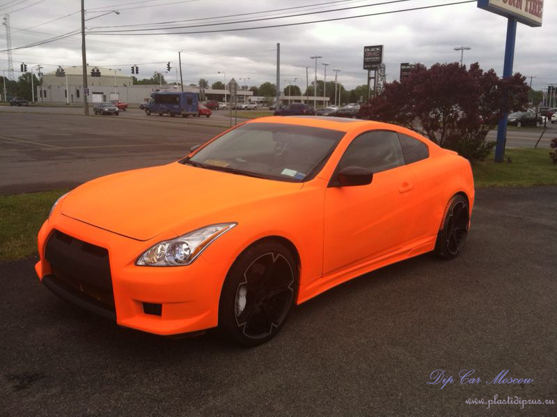 Fluorescent Orange Plasti Dip