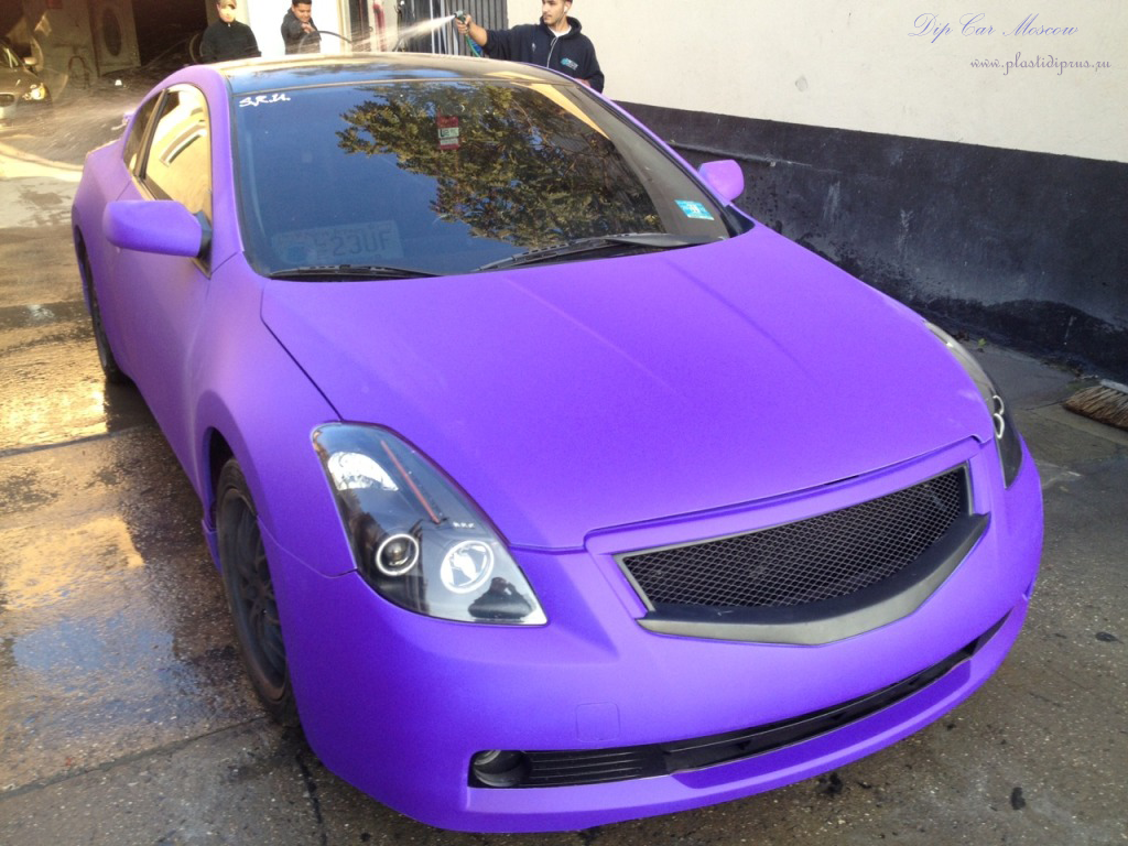 Fluorescent Purple Plasti Dip