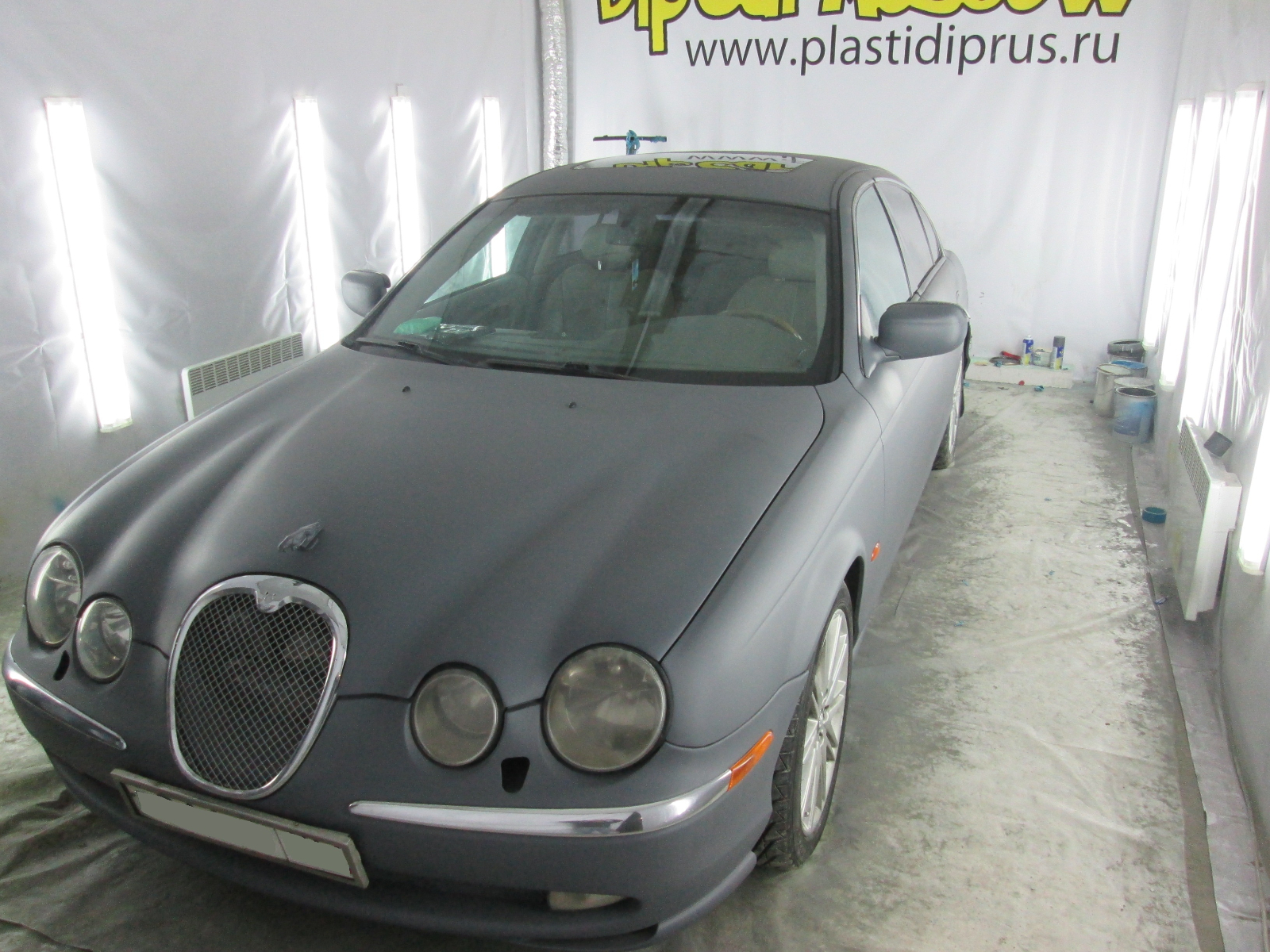 Jaguar s-type Gunmetal Grey Plasti Dip