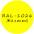 Флуоресцентный желтый колер RAL 1026