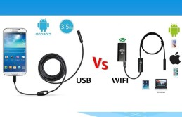 ЭНДОСКОП USB VS WIFI