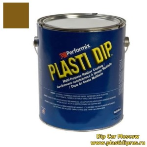 plastidip.5l. brown