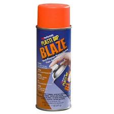 ярко-оранжевый пластидип спрей